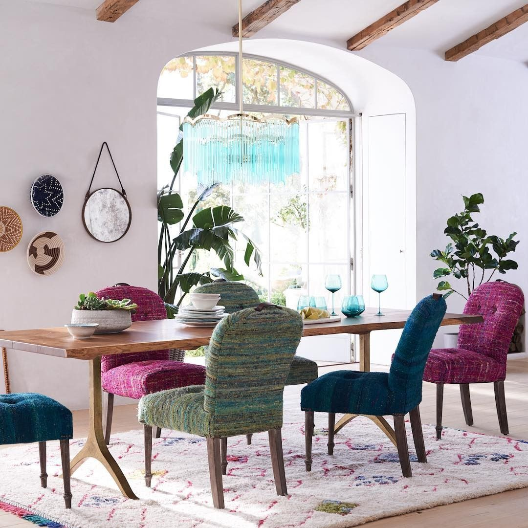 Anthropologie Dining Room: Save Spring A Seat At The Table ☀️ #anthrohome