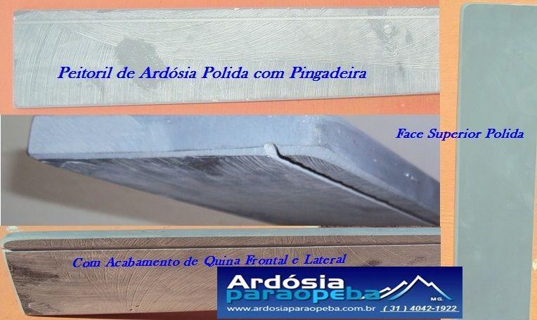 Peitoril De Ardosia Com Pingadeira Www Ardosiaparaopeba Com Br Ardosia Pedras Portuguesas