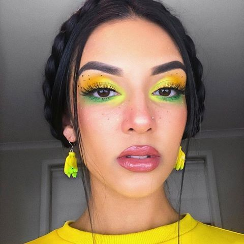 fruit inspired makeup which one do you like lemon