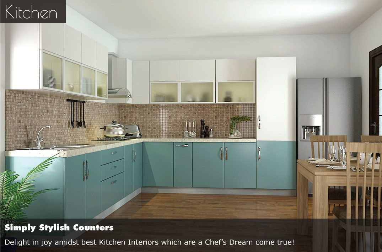 indian parallel kitchen interior design - Google Search ...