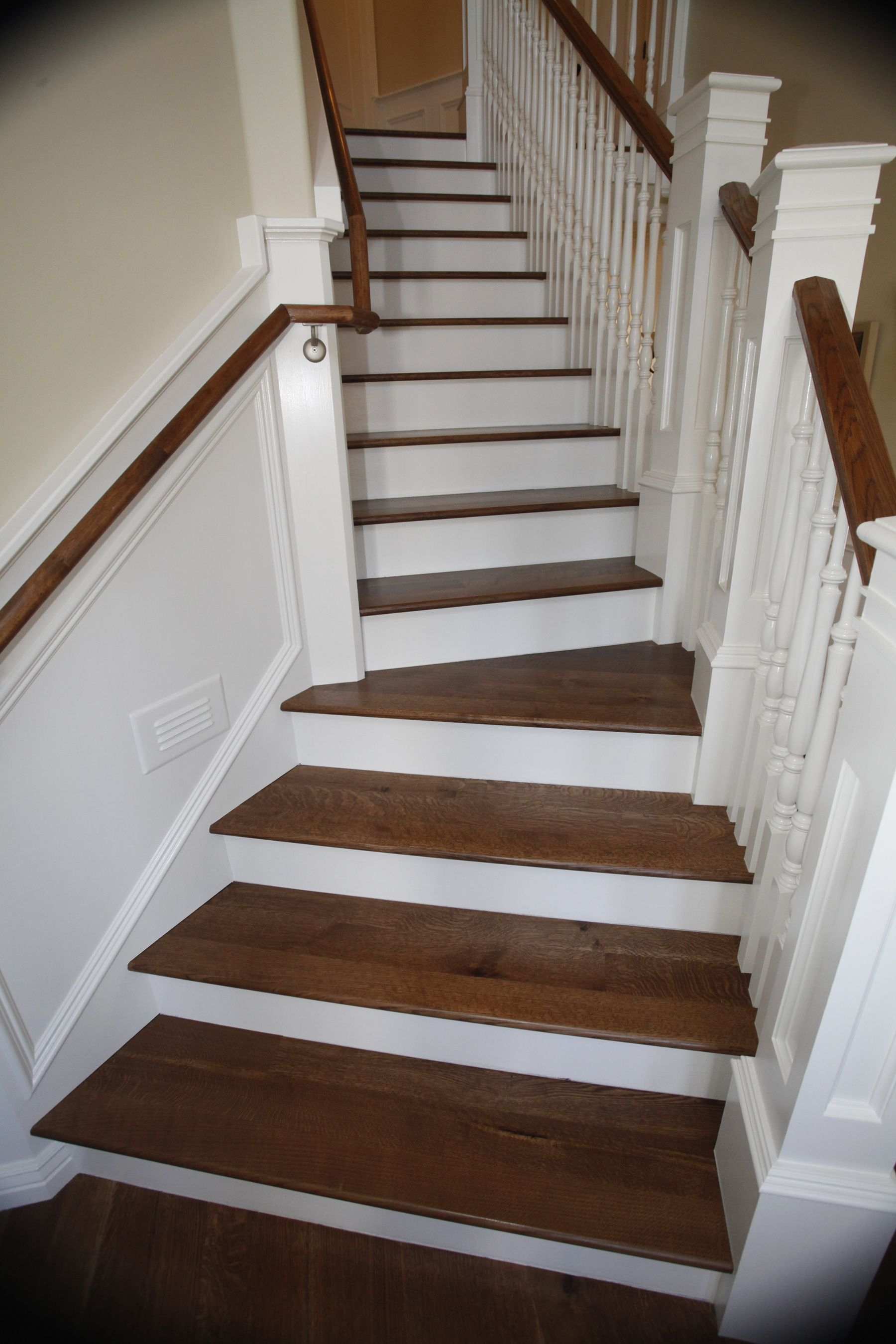 Wood Floor Stairs Pictures Google Search Wood Floor | Carpet Tiles For Steps