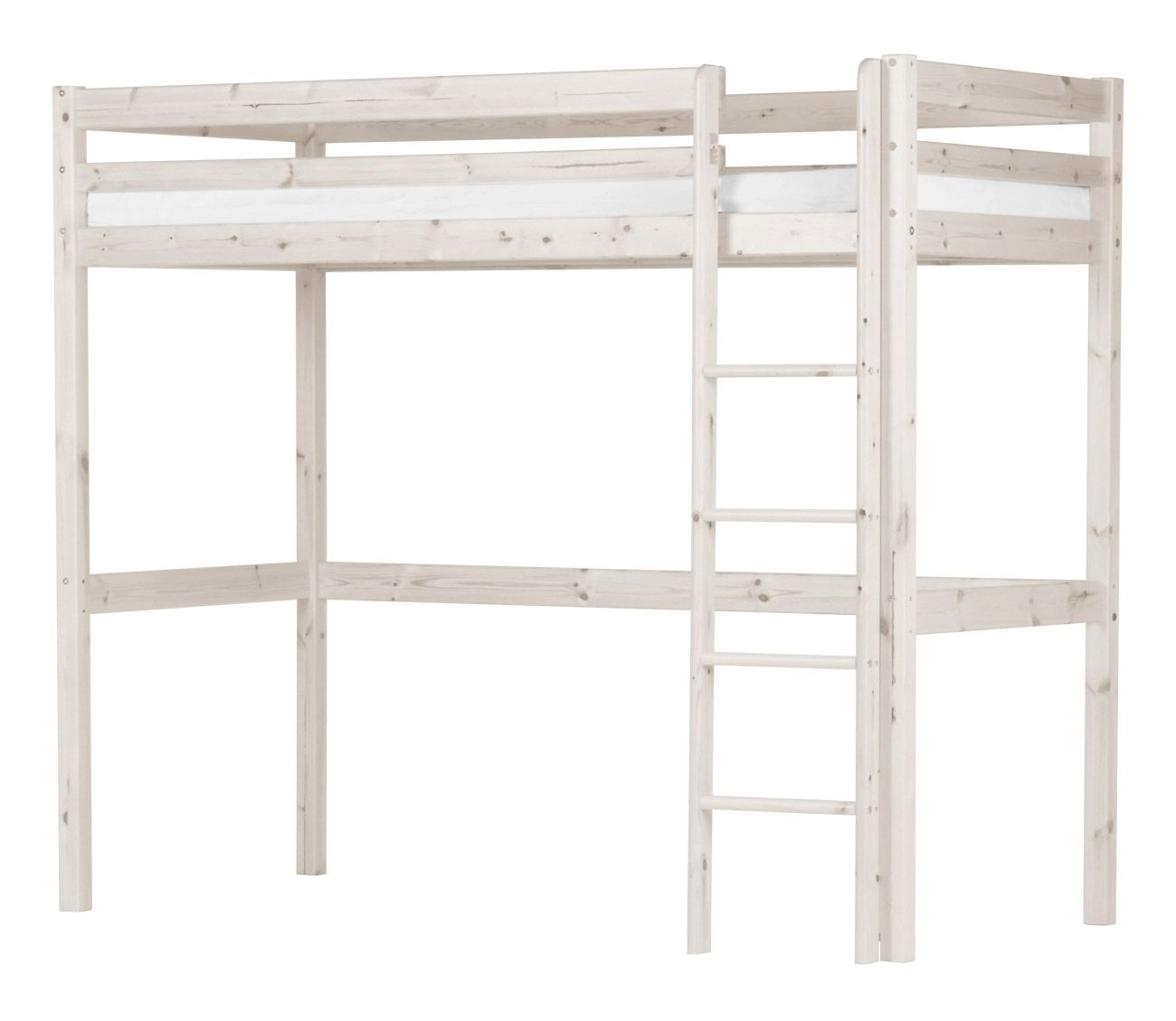 Loft bed with desk and pull out bed  Lit mezzanine Basic Hit H  Lit mezzanine Mezzanine and Lights
