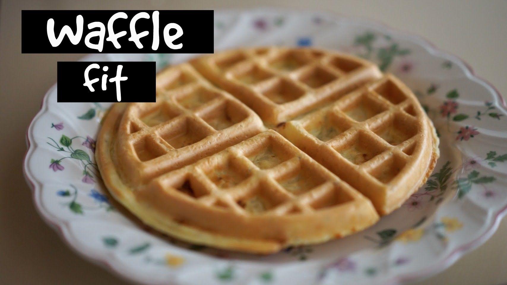 Receita - Waffle Fit - YouTube