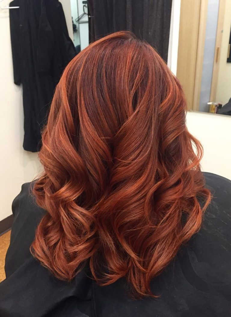 80+ Best Red Brown Hair Color Ideas of 2018