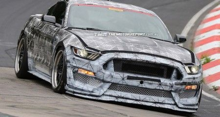 #Ford Mustang SVT Spied Testing, Previews Shelby GT500 Replacement