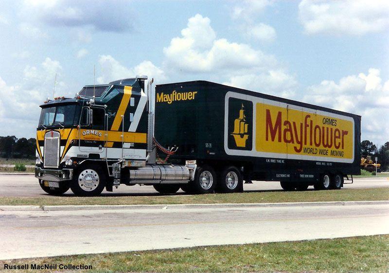 Mayflower moving vans pinterest semi trucks rigs for Mayflower car shipping