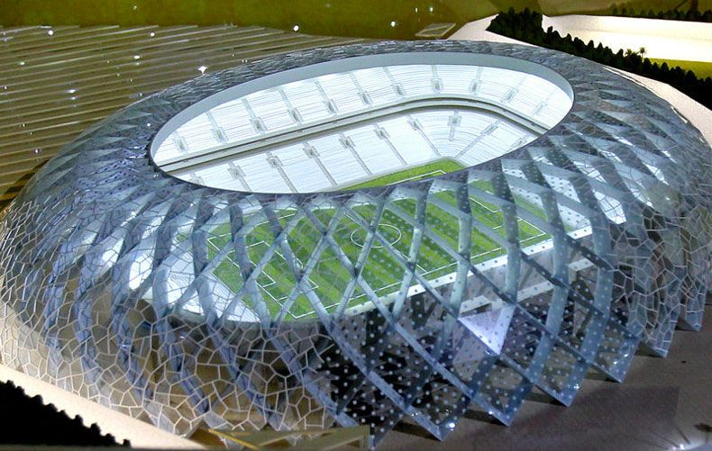 Al Wakrah World Cup Stadium In Qatar By Zaha Hadid Architects Video Qatar World Cup Stadiums Stadium Architecture World Cup Stadiums