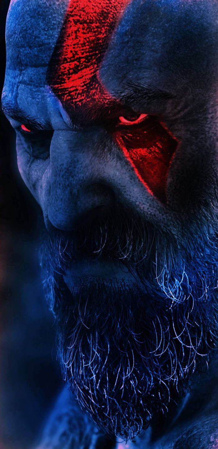 F K Thanos This Is Kratos In 2019 Kratos God Of War