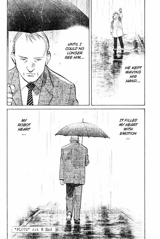 Naoki Urasawa - Pluto Volume 2, Act 8: Tetsuwan Atom, Page 28