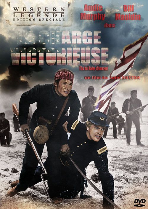 The Red Badge of Courage (1951) Dvd Front Cover!