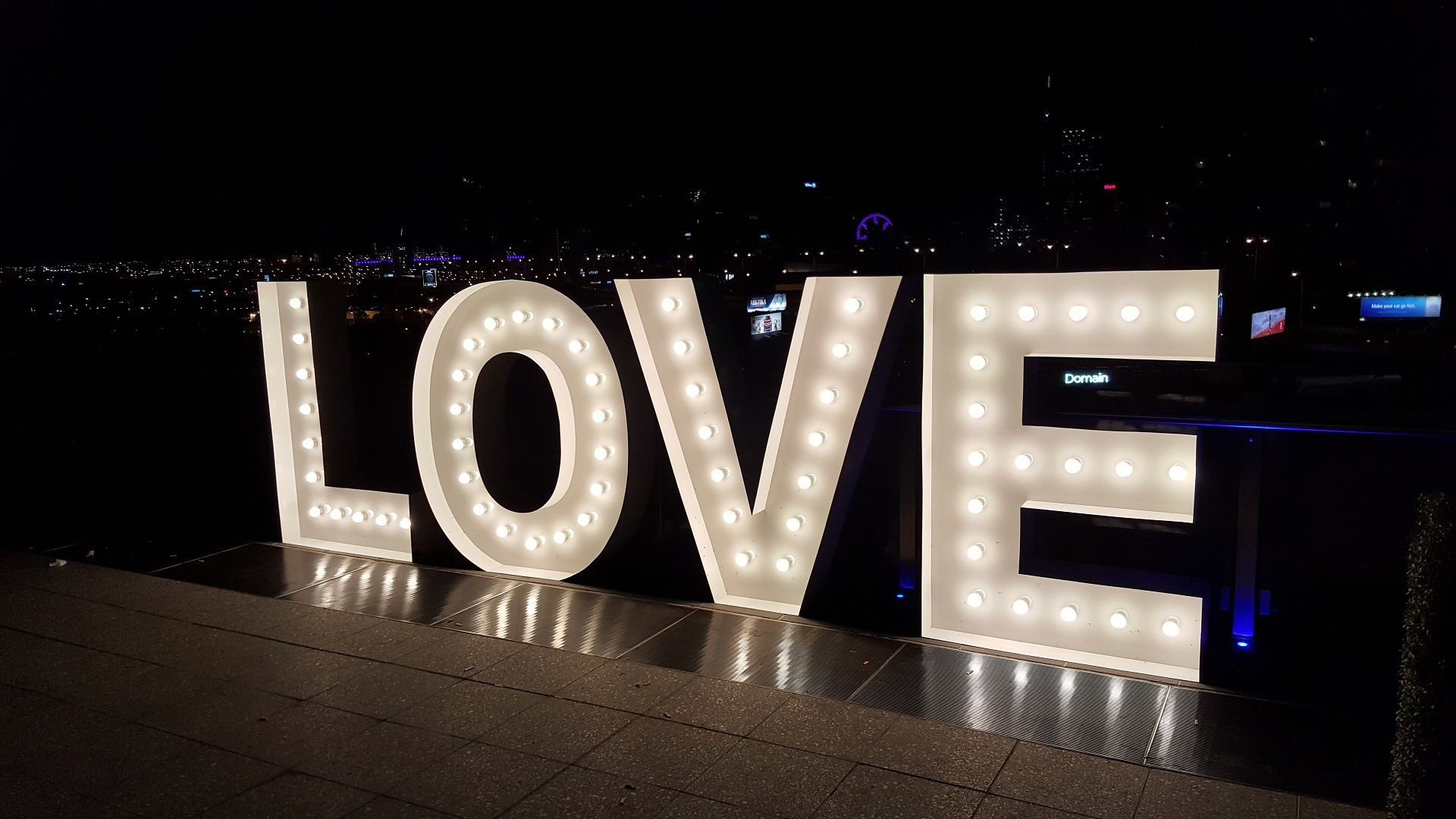 Hire Big Letter Lights In Toowoomba Wedding Love Letters Brisbane