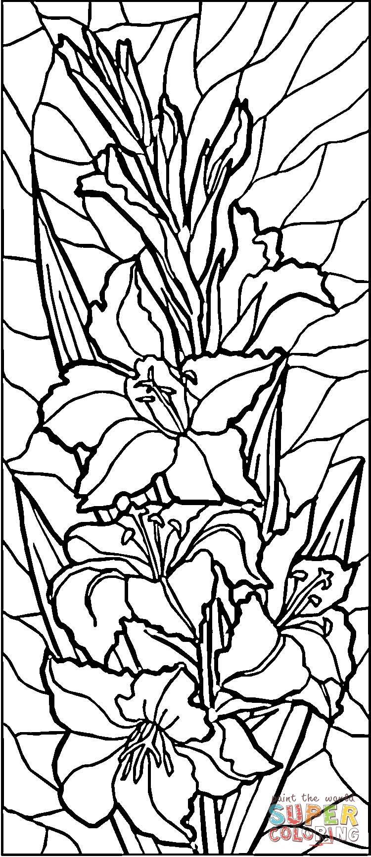 Easter Stained Glass Coloring Pages Glass Painting Patterns Glass Painting Designs Stained Glass Patterns Free