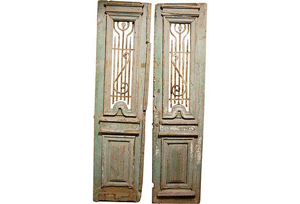 Antique French Doors Pair Antique French Doors French Antiques Antiques