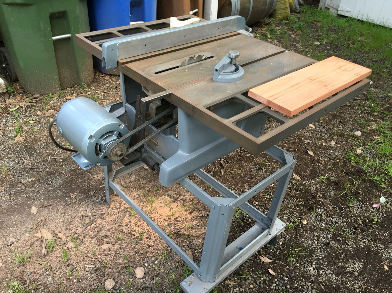 My 1950s Craftsman Table Saw So Much Fun To Use For Making