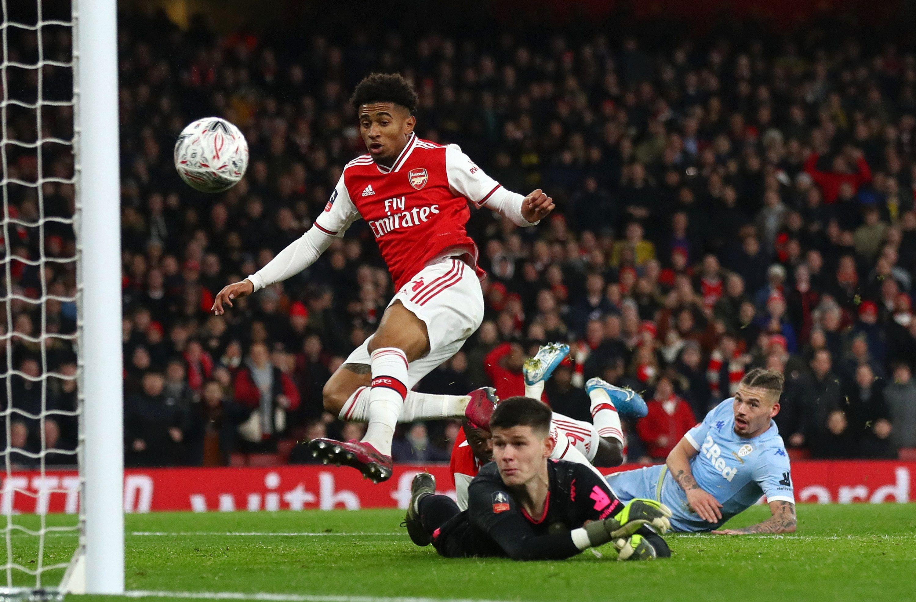Arsenal In Desperate Need Of Transfers After Reiss Nelson Suffers Hamstring Injury In Training And Misses Sheff Utd Game In 2020 Fa Cup Bt Sport Leeds United