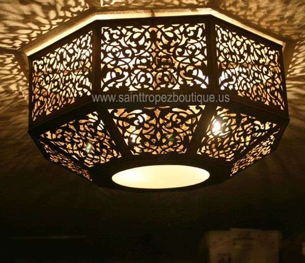 Crow S Nest Yoga Tai Chi Room Moroccan Ceiling Fixture