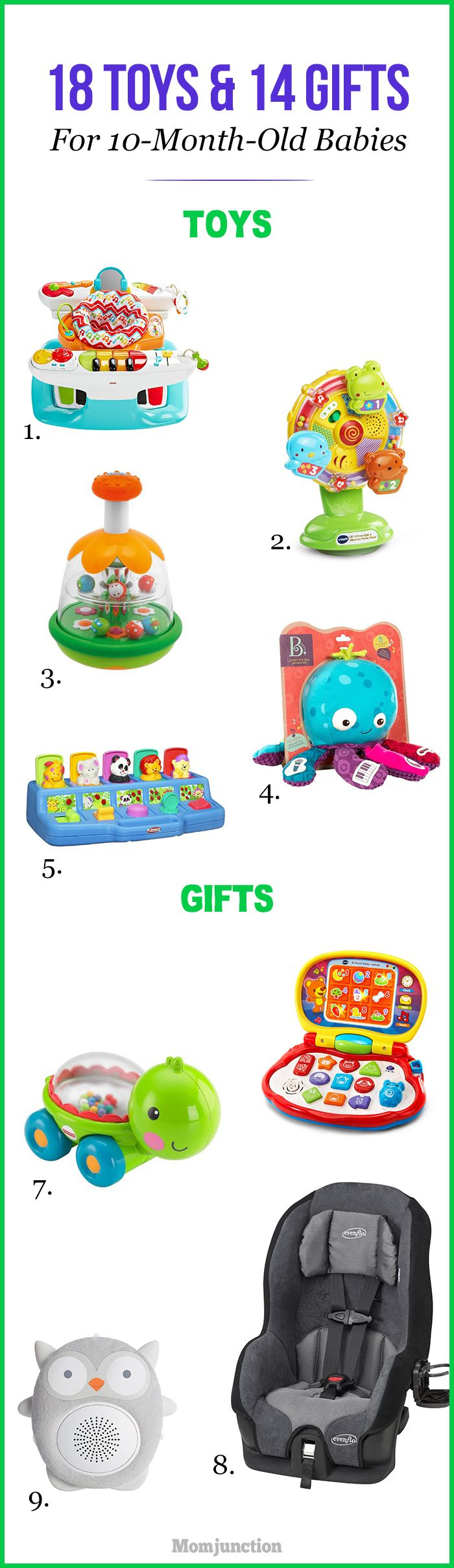 32 Best Toys And Gifts For 10-Month-Old Babies To Buy In ...