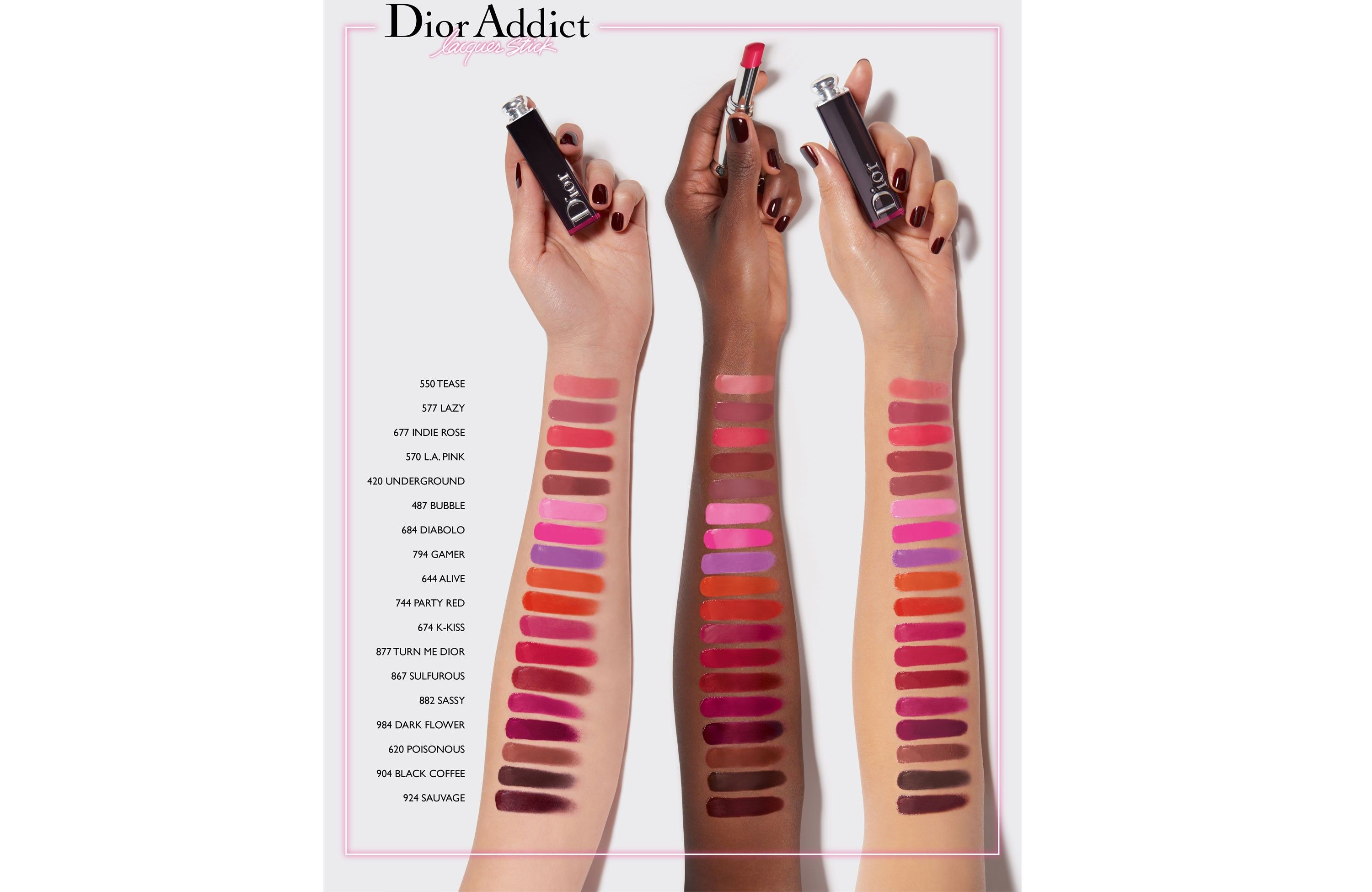 Addict Lacquer Stick Makeup Beauty Well Being