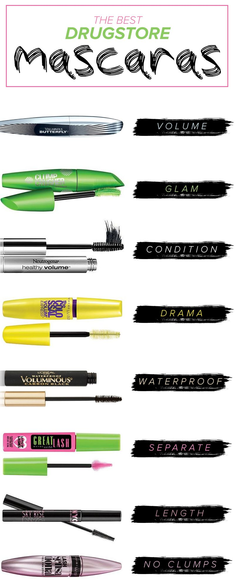 15 drugstore mascaras celebrity makeup artists can't live without