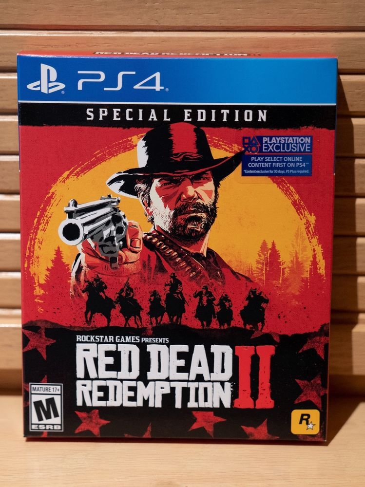 Red Dead Redemption 2 Special Edition Ps4 Playstation 4 New Bnib Sealed Reddeadredemption Gaming Xbo Red Dead Redemption Red Dead Redemption Ii Xbox One