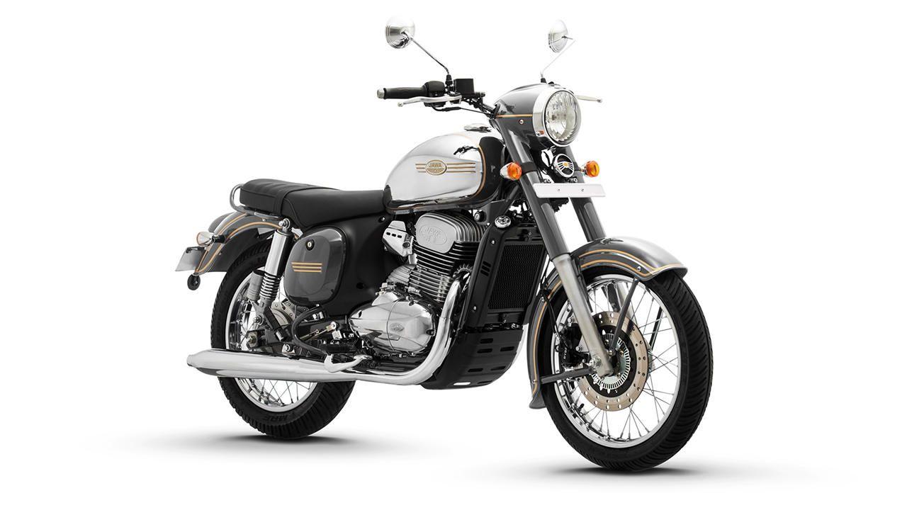 Jawa And Jawa 42 Motorcycle Classic Colours