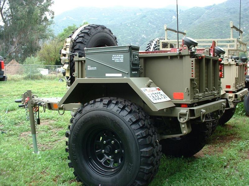 Off Road Trailer Mil Spec M8 Military Trailer Pirate4x4