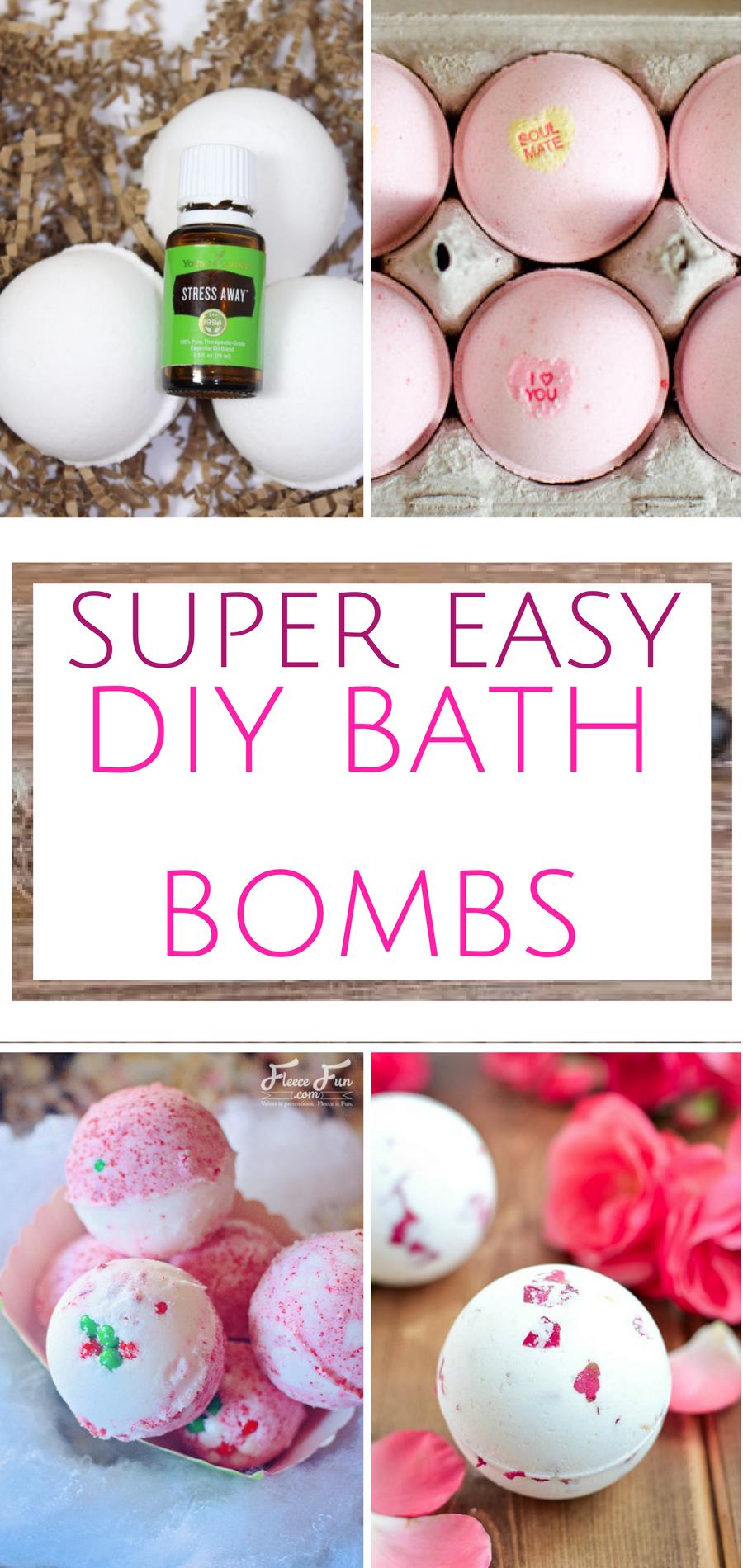 Super Easy Diy Dish Soap 3 Ingredients: Super Easy DIY Bath Bombs