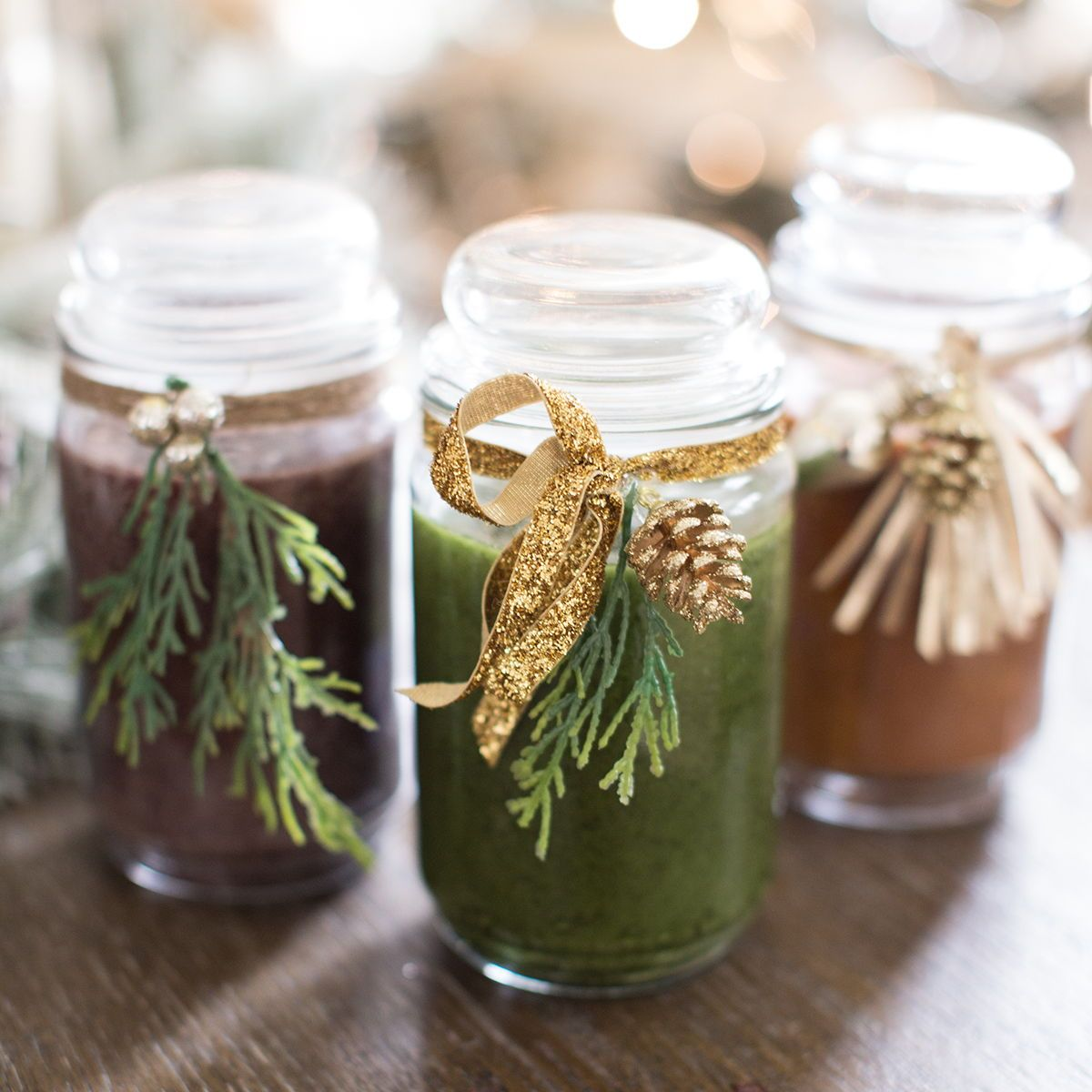DIY Jar Candle Gift. Via Just Destiny gifts candles