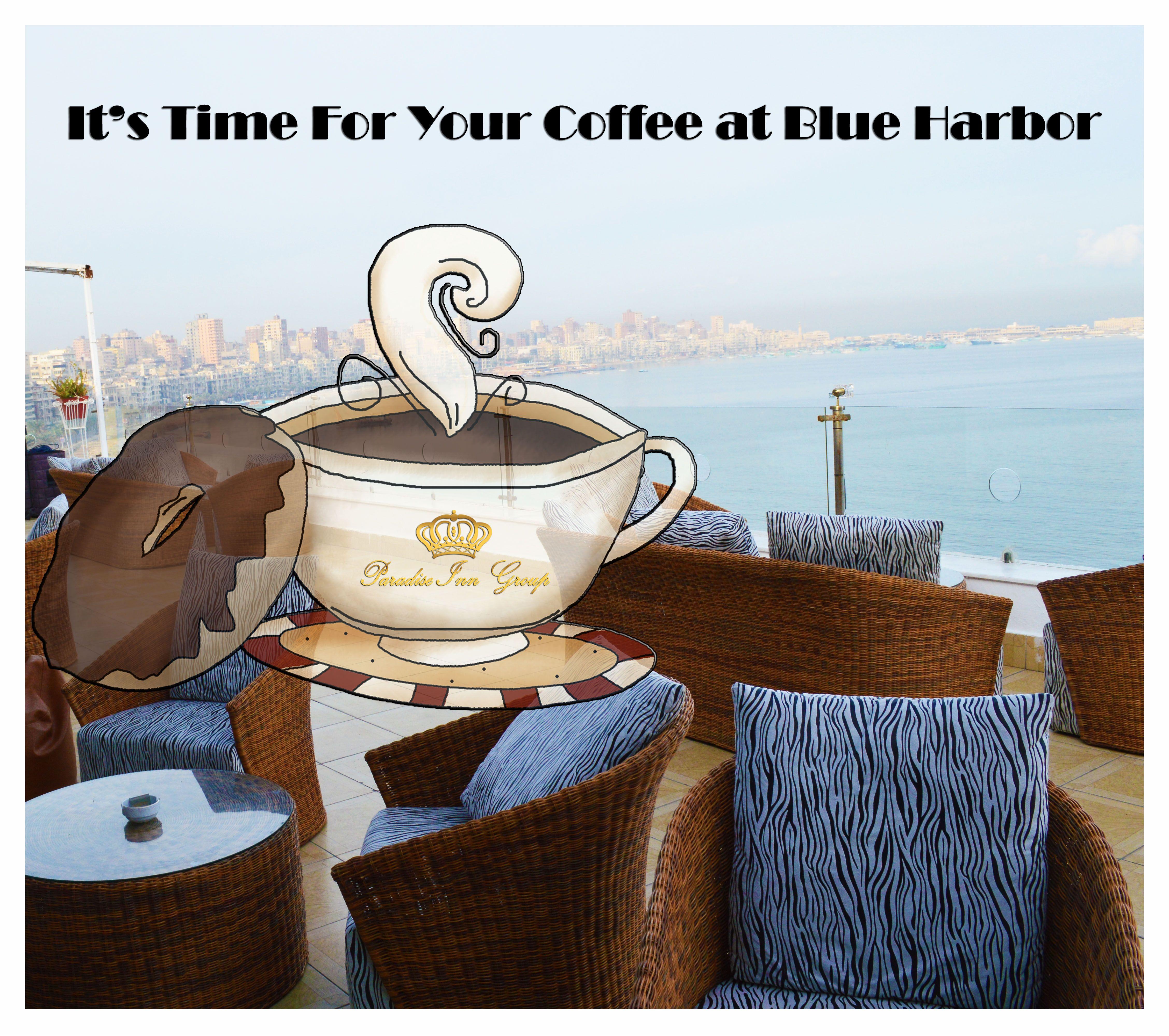 #good #morning #enjoy #coffee #time #blue #harbor #paradise