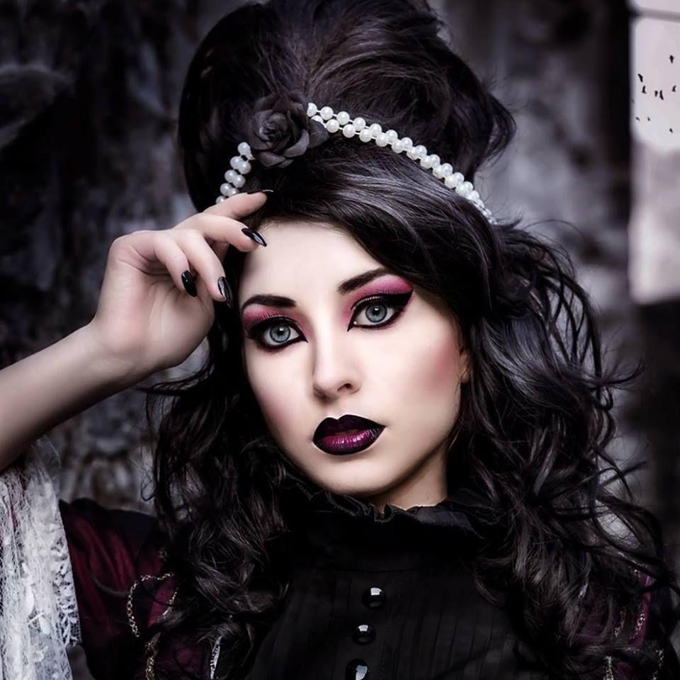 Фото в готическом стиле девушка