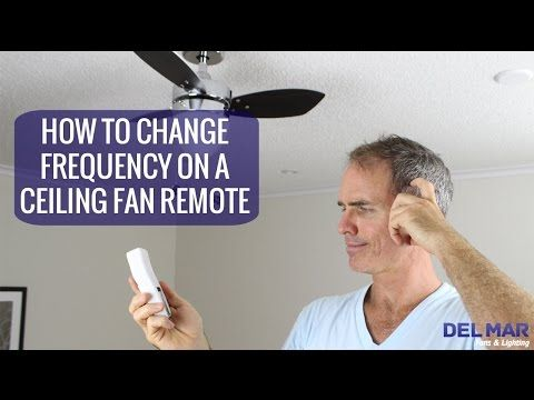 How to change the frequency on a ceiling fan remote youtube how to change the frequency on a ceiling fan remote youtube mozeypictures Image collections