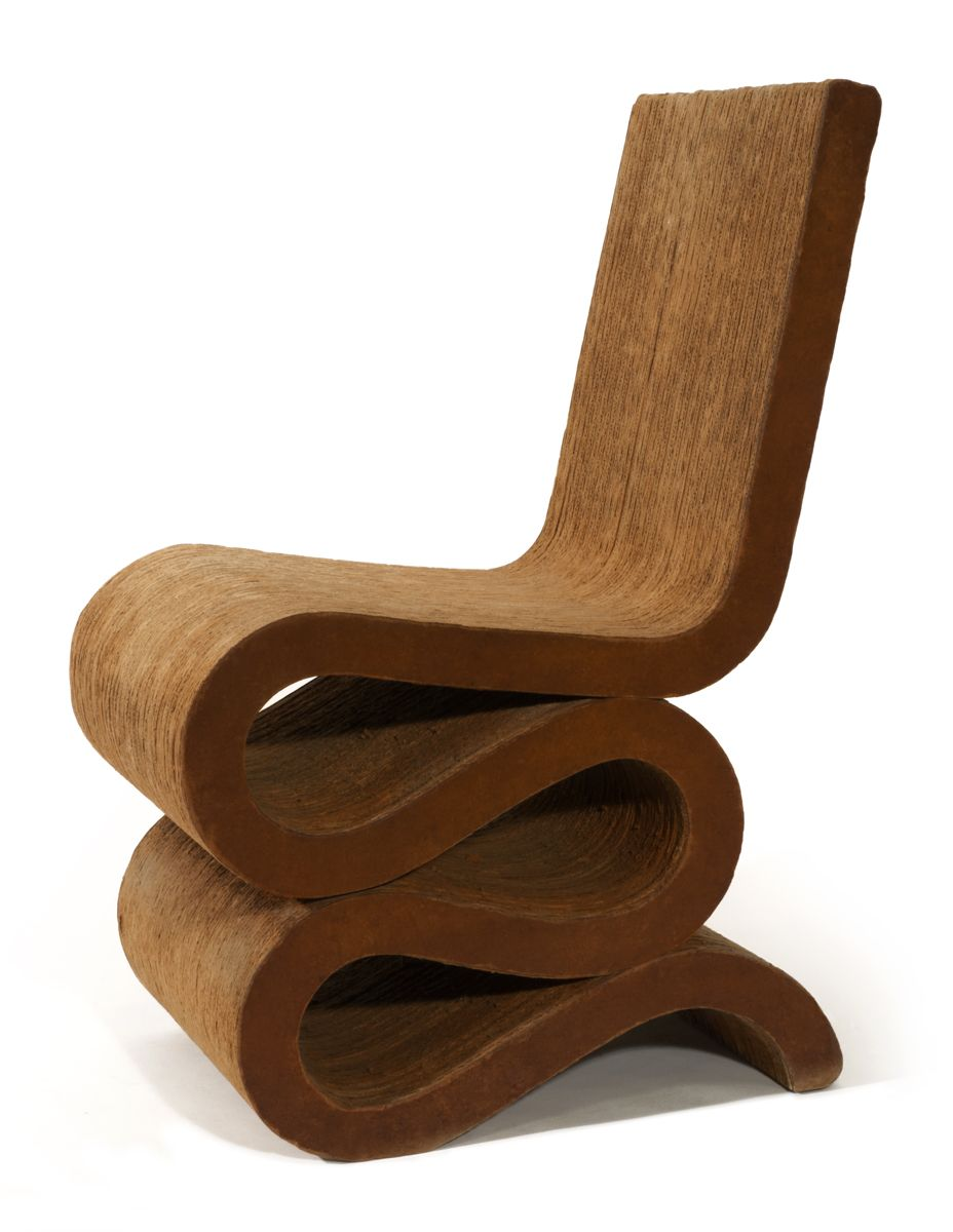 Easy Edges Side Chair Wiggle Chair Frank Gehry Pinterest  # Muebles De Frank Gehry