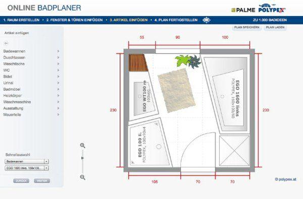 Badezimmerplaner Online Das Traumbad Spielend Leicht Planen Planer Traumbad Bad