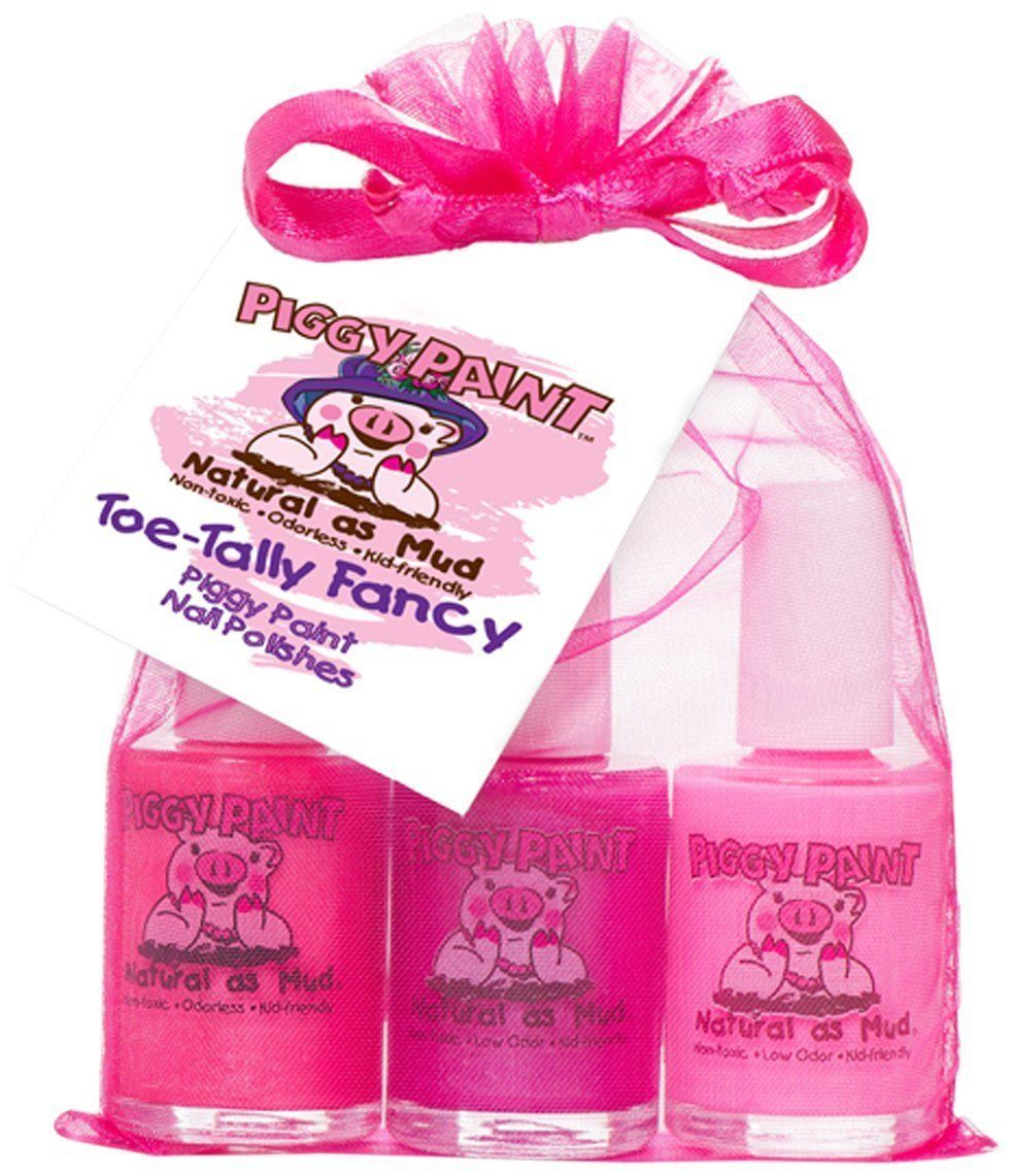 Piggy Paint 801 Toe-Tally Fancy Gift Set: Amazon.co.uk: Kitchen ...