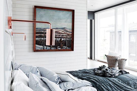Monochromatic Finnish Home