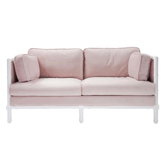 Groovy World Away Ainsley Lacquer And Velvet Sofa Living Rooms In Creativecarmelina Interior Chair Design Creativecarmelinacom