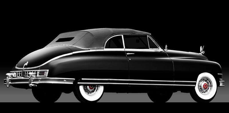 1949 Packard Super 8 Victoria Convertible Classic Cars Packard
