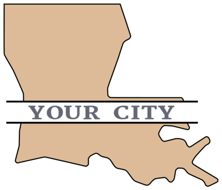 Louisiana Svg Png Dxf State Outline Instant Download Etsy Louisiana Svg State Outline State Shape Art