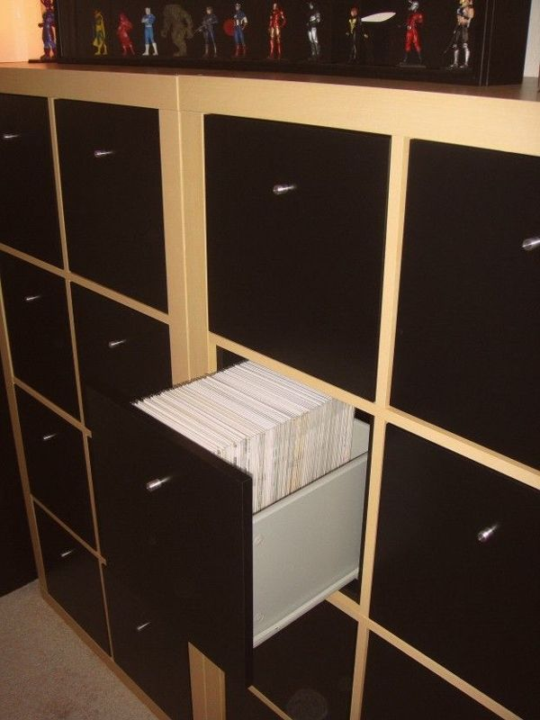 Comic Book Storage Ikea Buchaufbewahrung Home Design Speicherideen