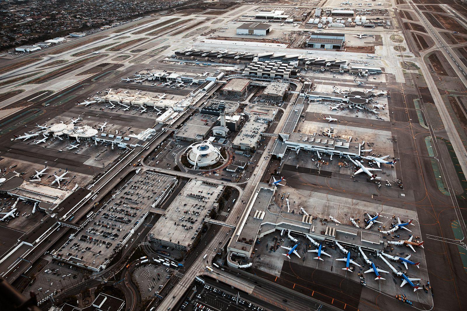 Lax Los Angeles International Airport Los Angeles City Photo