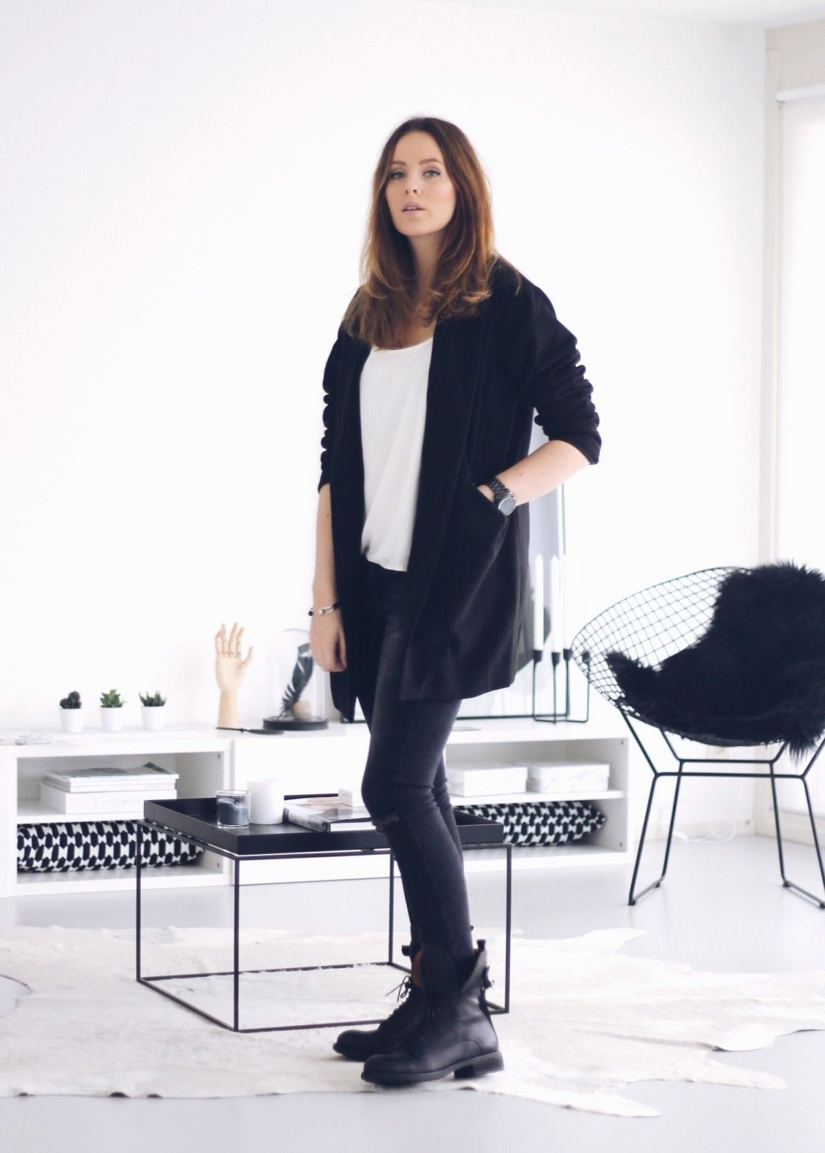 Style...Moderosa // WhatsTrend Blog » OOTD // Roos-Anne // black & white look