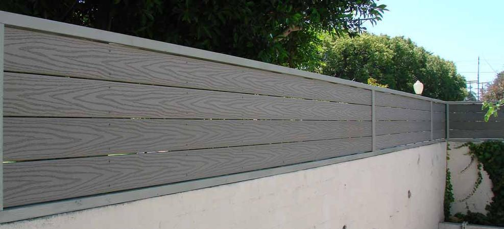 Wall Extenders 2 Ft Trex Composite Material Fence Toppers Patio Fence Vinyl Fence