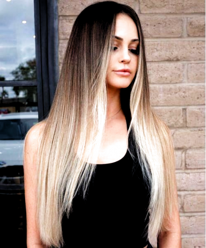 45 Best Balayage Hairstyles For Straight Hair For 2019 Be Trendsetter Short Hair Balayage Straight Hair Highlights Balayage Hair Blonde
