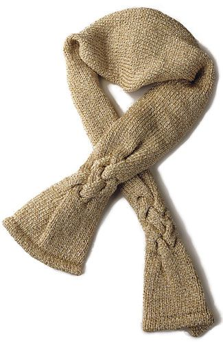 Karita Knit Plaited Cable Scarf Berroco Free Pdf Pattern