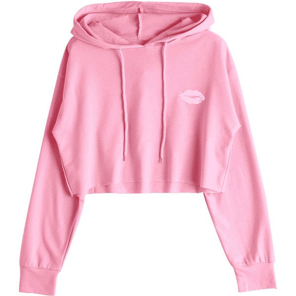20c2f9461898 Cute Cropped Hoodie Light Pink S ( 18) ❤ liked on Polyvore featuring tops,  hoodies, cropped hooded sweatshirt, pink hoodies, crop top, cropped hoodies  and ...