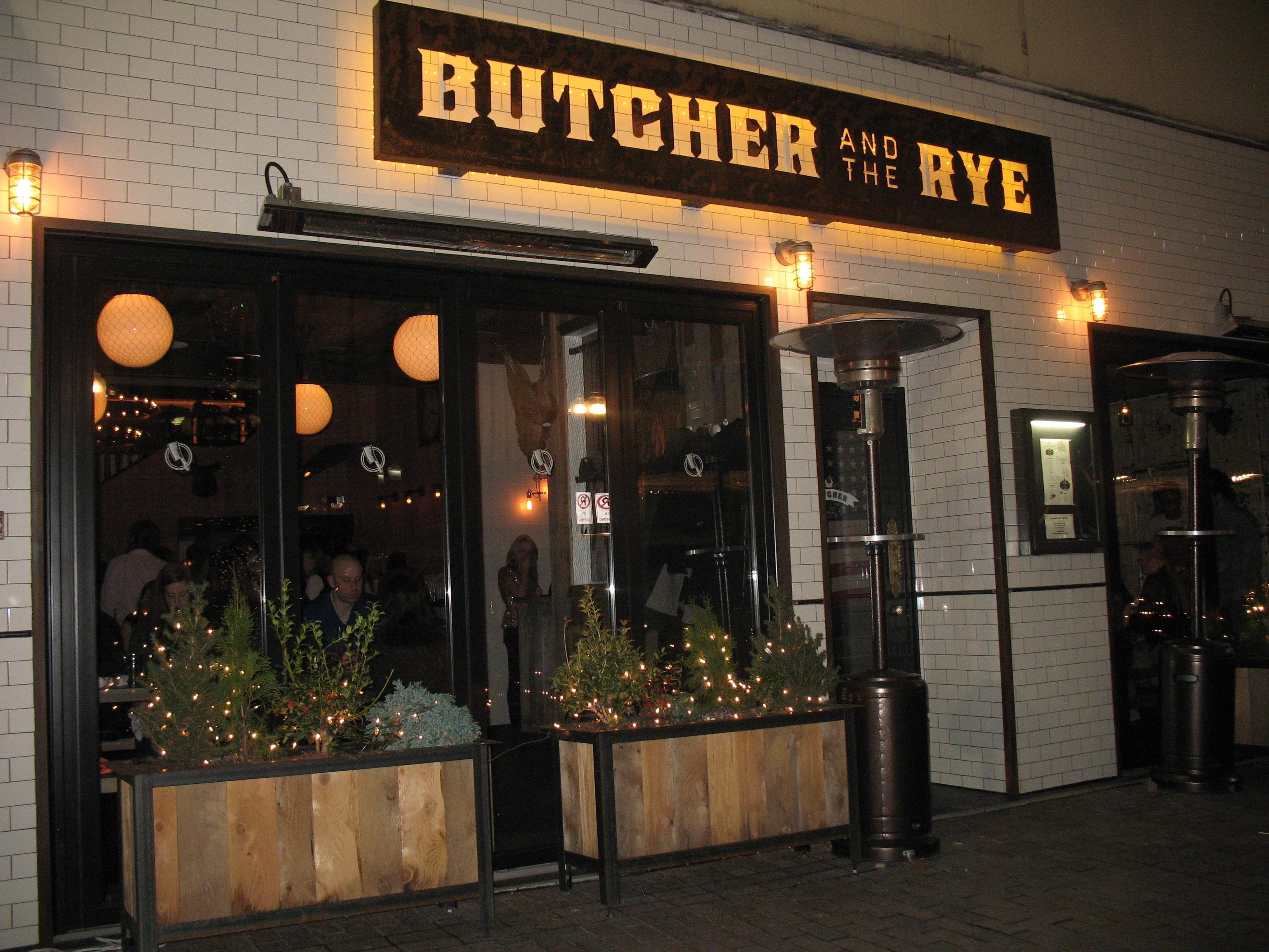 Butcher and the Rye, Pittsburgh Pittsburgh restaurants