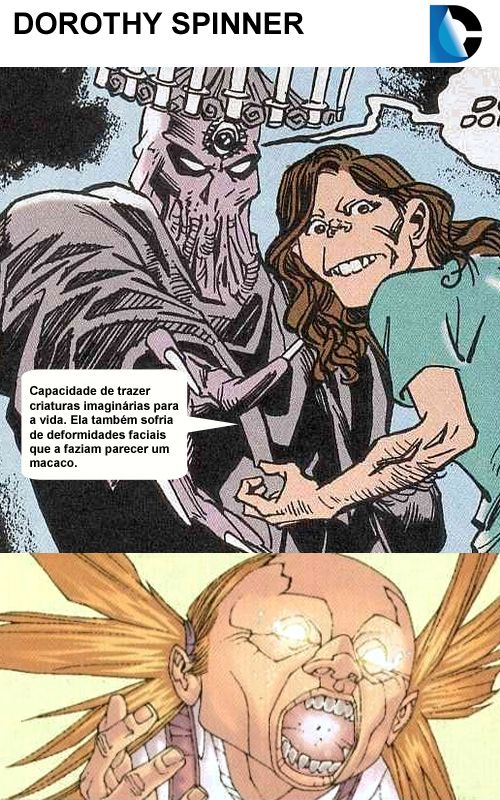 Dorothy Spinner Doom Patrol Doom Dc Comics