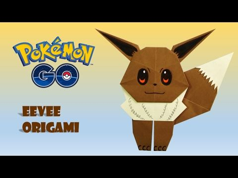 Photo of POKEMON GO – Origami EEVEE Tutorial DIY origami how to make origami easy facil