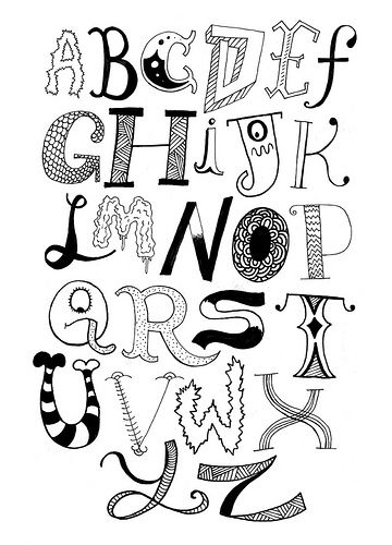 Hand Lettering  How Do You Spell It    Inspiration
