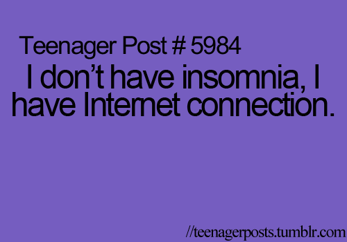This describes my life at my aunt's house.